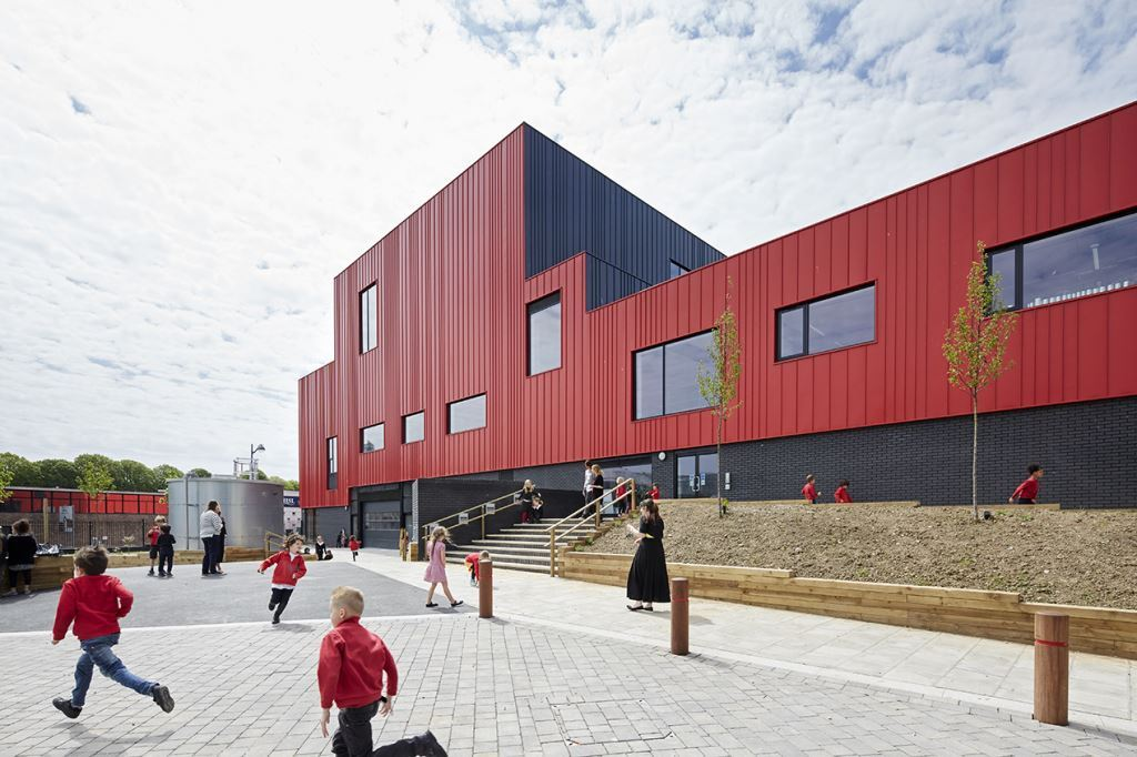 Plymouth school of creative arts wins top architectural for Top uk architects