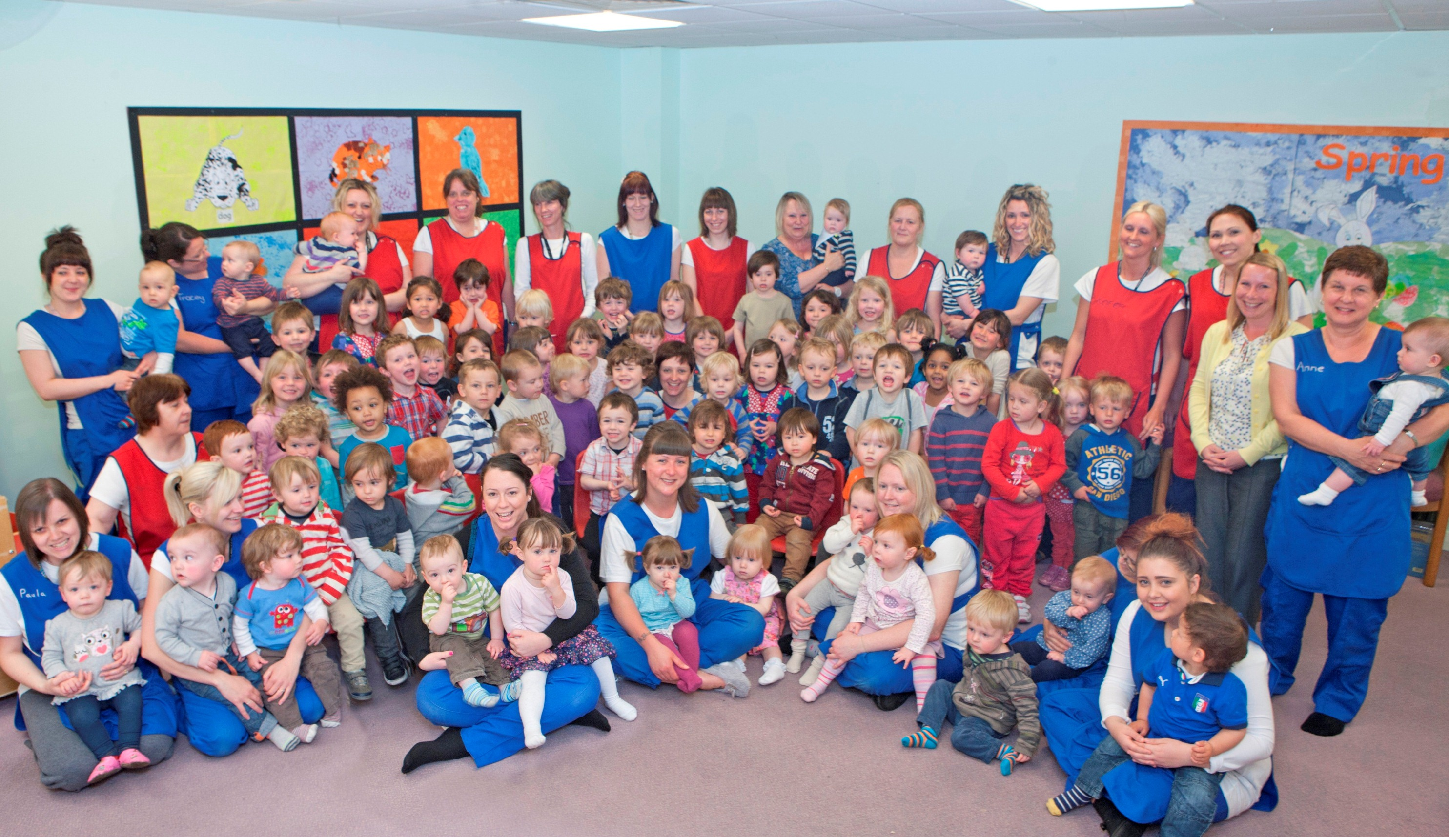 University S Freshling Nursery Celebrates Outstanding