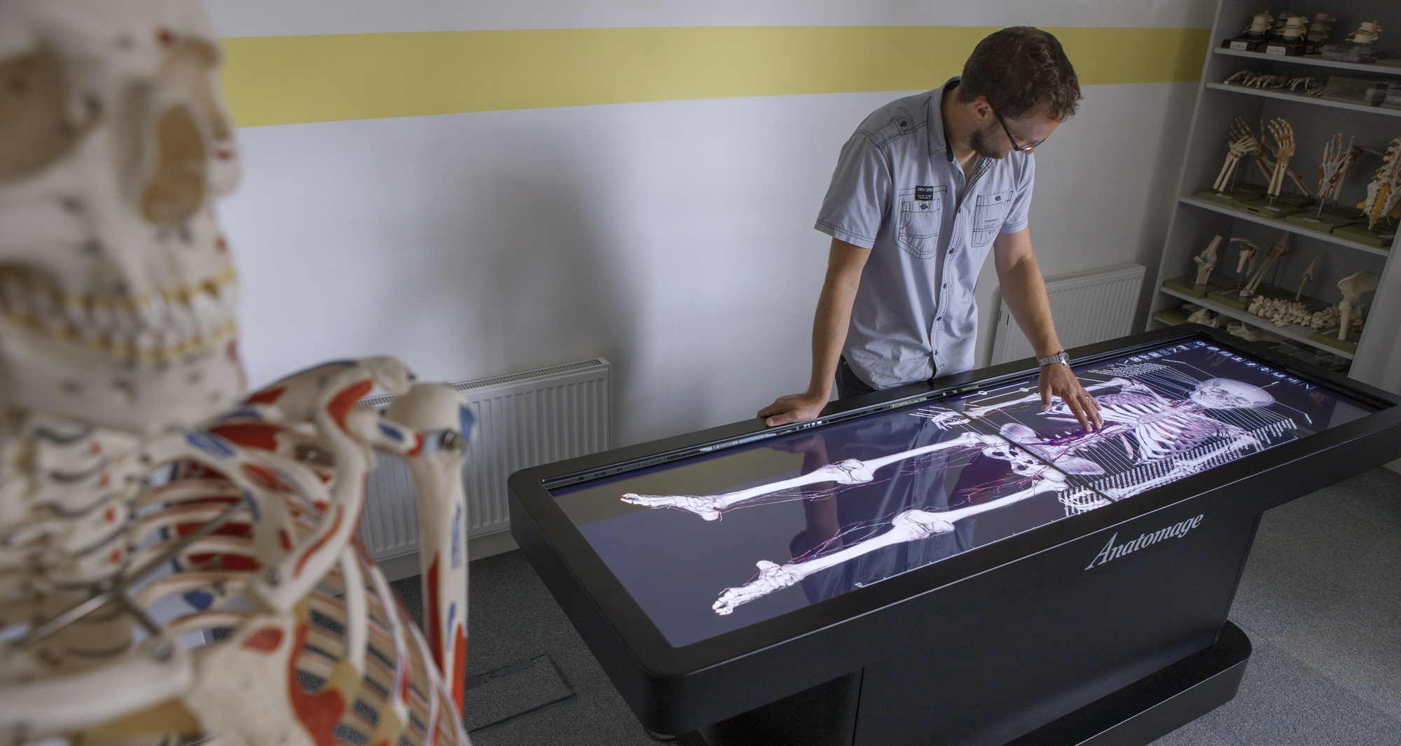 Virtual Dissection Table A First For Plymouth Medical