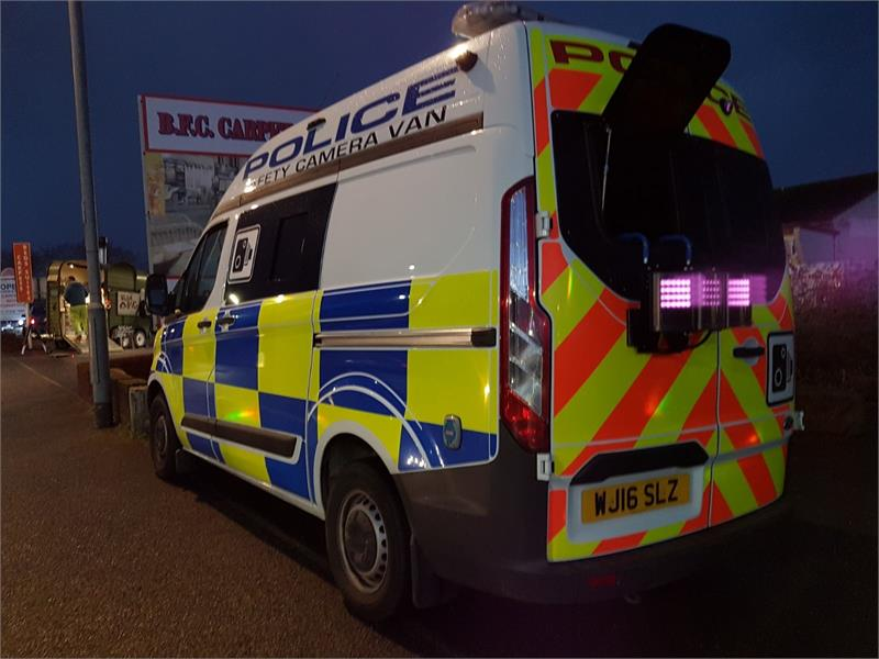 63c9862c7b49 Police expand infrared lighting on Speed detection vans