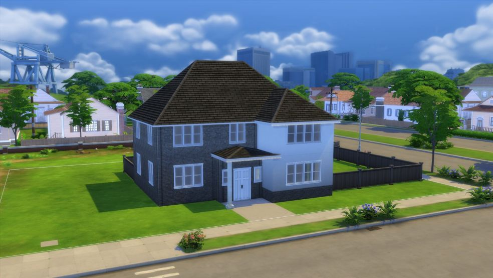 A Sims recreation of The Shaftesbury by @The.Sims_.Sisters