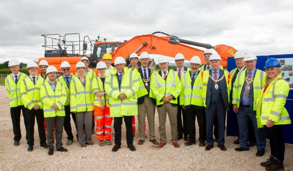 Partners mark progress on A382 improvements