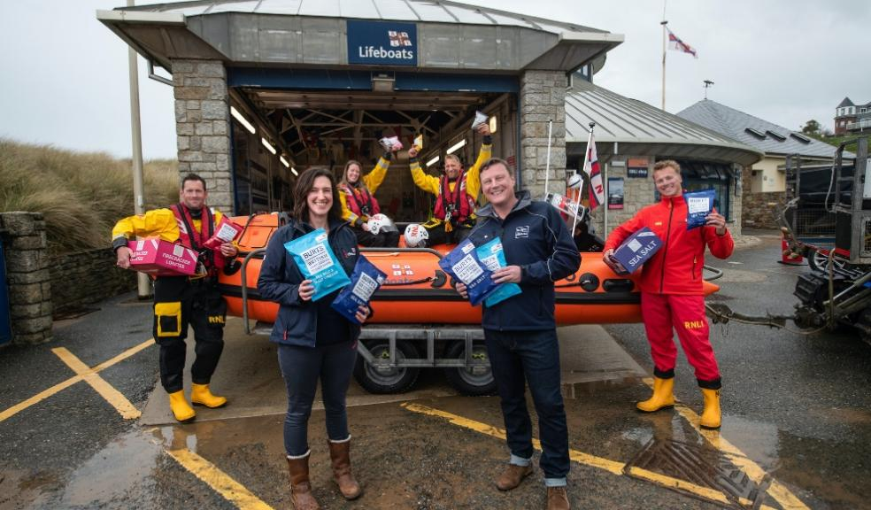 Plymouth-based Burts Snacks teams up with the RNLI as the South West braces itself for busy holiday