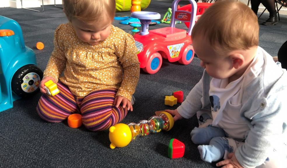 Grant for Covid-safe toys helps toddler group relaunch