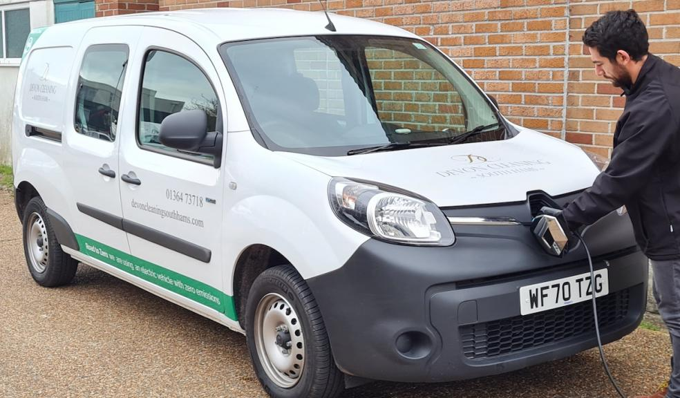 Devon Cleaning South Hams is making the switch to electric vehicles