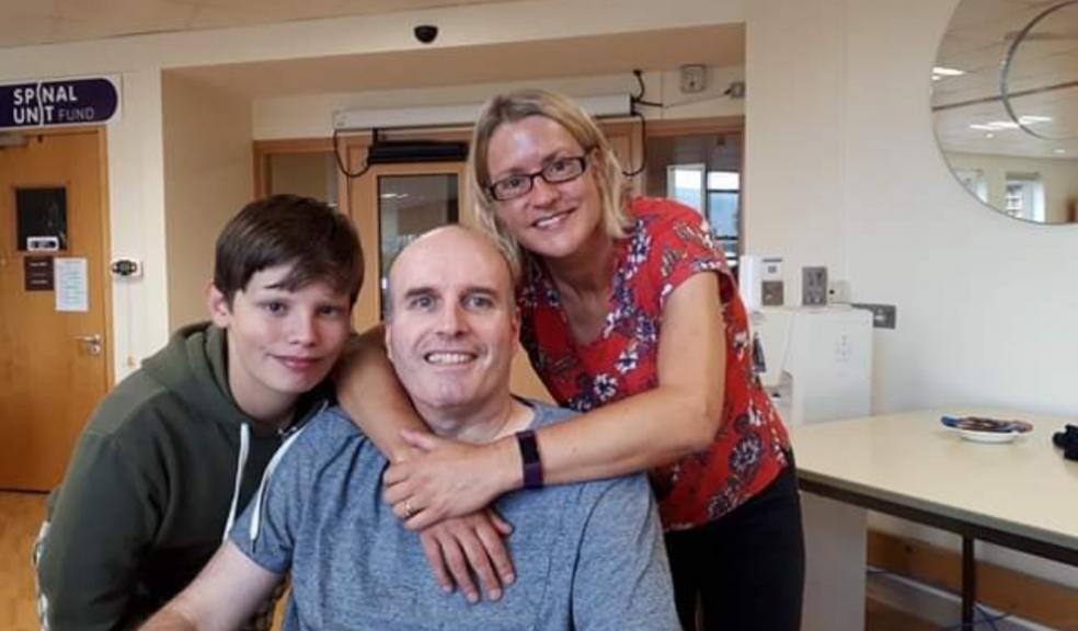 Sharon completes her husband Mike's100 milemission forDevon Air Ambulance