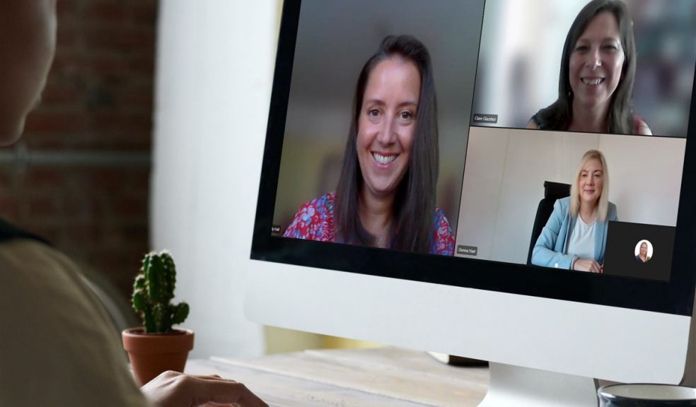 Wellbeing team at The Family Law Company in an online meeting