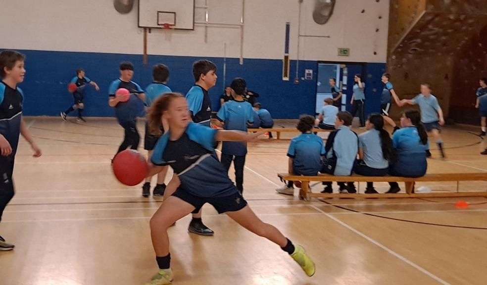 Dodgeball at Lipson Academy