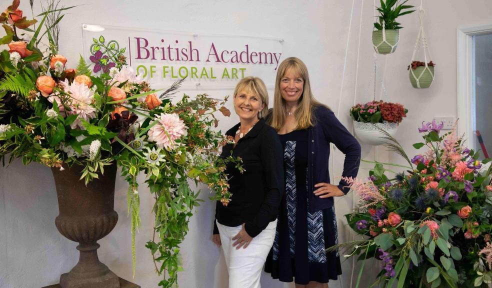 Julie Collins  & Tina Parkes Master Florists British Academy of Floral Art