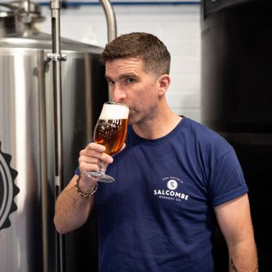 Jordan Mace, Newly Appointed Commercial Director at Salcombe Brewery Co.