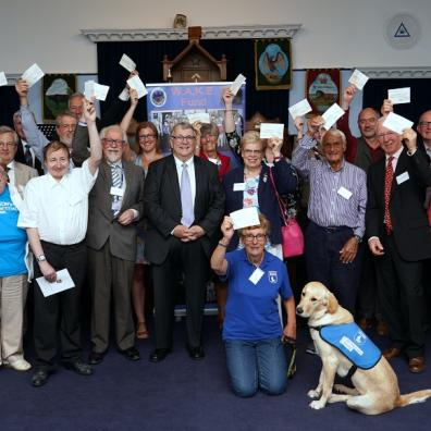 Children's Hospice SW receive £830 from the Freemasons