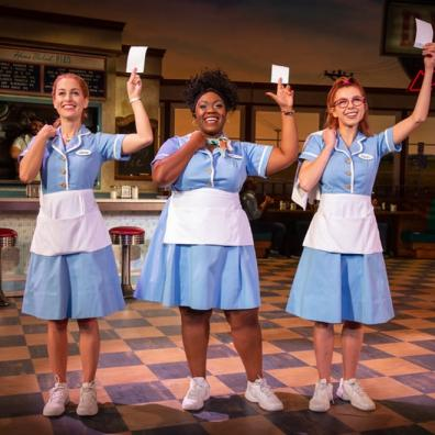 West End, The Waitress, theatre