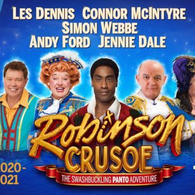 Pantomime, Plymouth, Robinson Crusoe