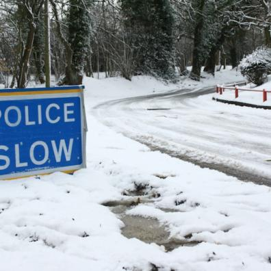 snow warning for Devon