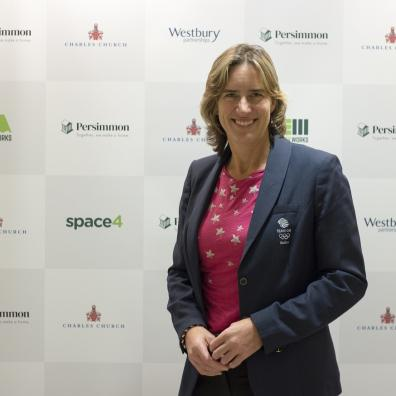 Dame Katherine Grainger DBE, chair of UK Sport and Great Britain's most decorated female Olympian
