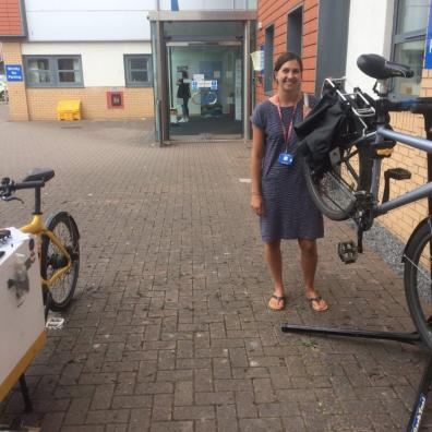 Ride on treats NHS staff to free Dr Bike Checks