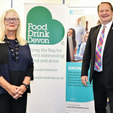 Photo of Food Drink Devon joining forces with Devon & Plymouth Chamber of Commerce