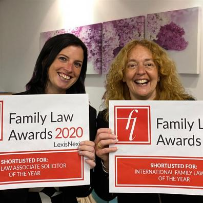 Two solicitors with certificates