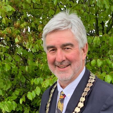 Trinity Councillor Ian Thomas has been elected as the new Chair of East Devon District Council