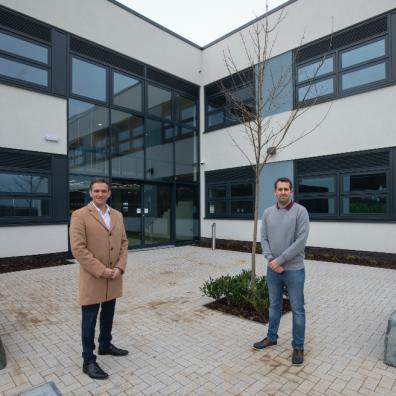 "Enterprise Centre becomes ""Node"" as construction completed"