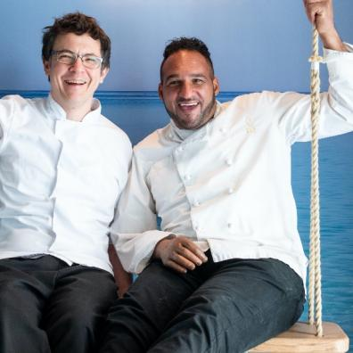 Sylvain Peltier and Michael Caines Launch Café Patisserie Glacerie Franchise