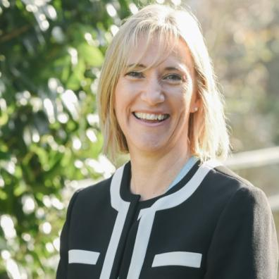 Ivybridge Community College headteacher Rachel Hutchinson