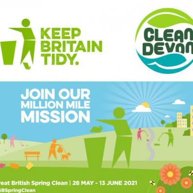 Clean Devon backs Keep Britain Tidy's nationwide litter campaign