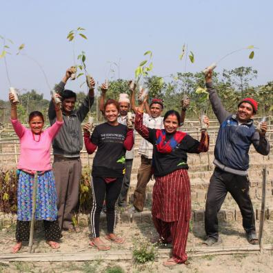 'The Billion Trees Project' helps rebuild sustainable communities (Photo: Eden Reforestation Project