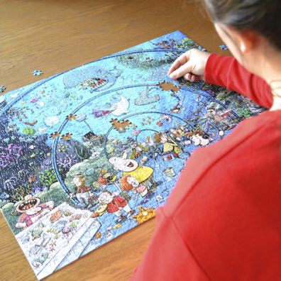Putting together the pieces of All Jigsaw Puzzles' Chaos Aquarium